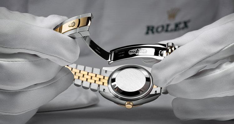 Das Rolex Wartungsverfahren