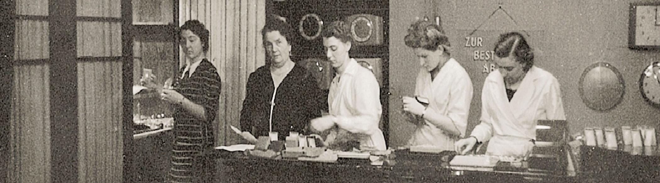 Historie des Juweliers Rüschenbeck - Ein Geschäft um 1920