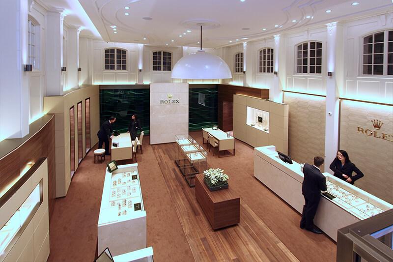 Juwelier Rüschenbeck in Köln am Dom (Rolex-Shop)