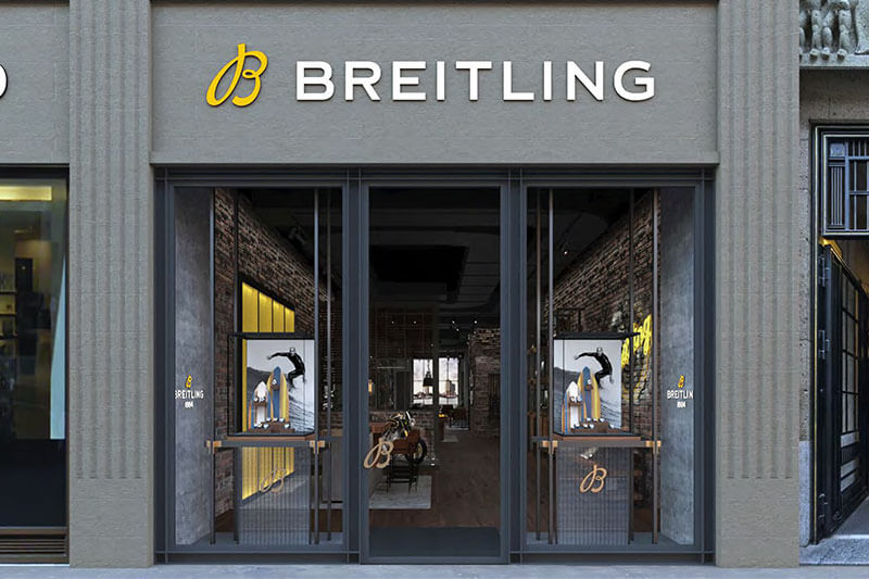 Hamburg - Breitling Boutique