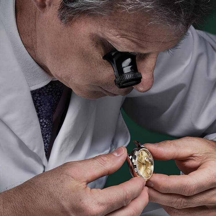 Diagnose der Armbanduhr