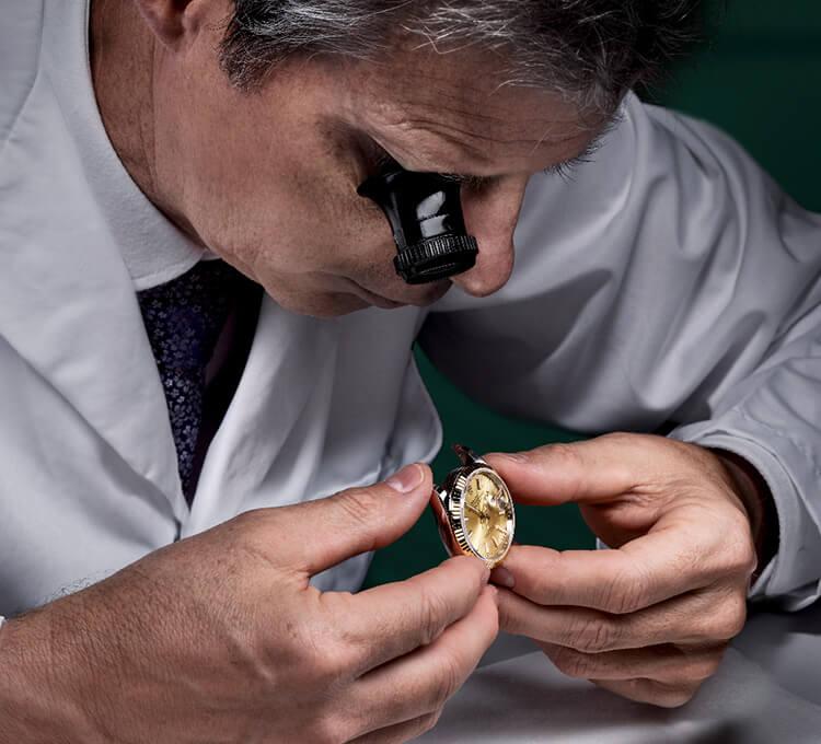 Wartung Ihrer Rolex bei Juwelier Rüschenbeck
